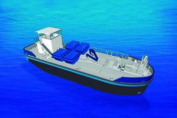 Barco naval 3D