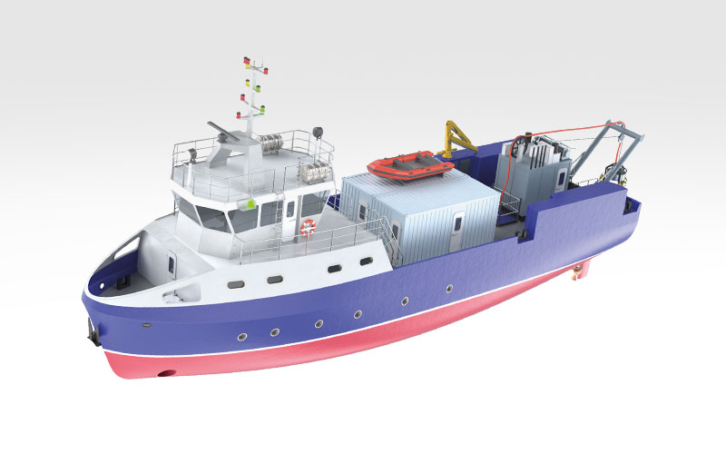 Specific activities vessel
