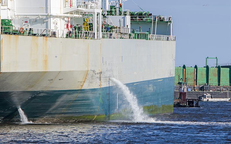 Reparación crucero en dique seco