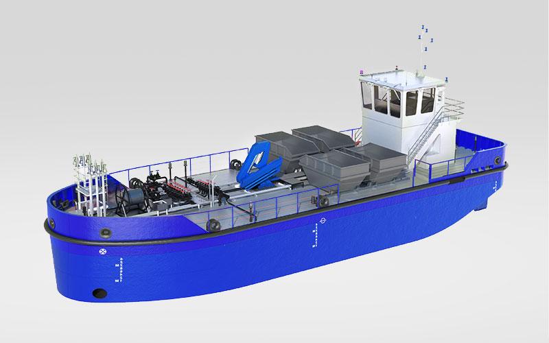 Harbor Tug sea
