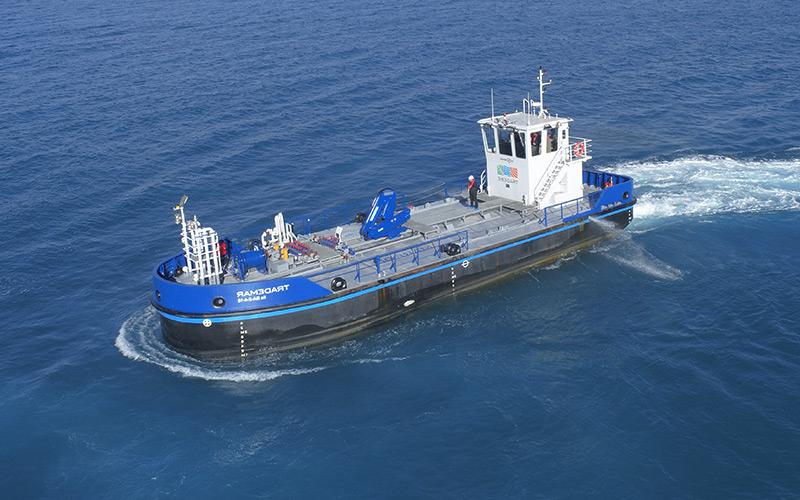 Harbour vessel dimensions