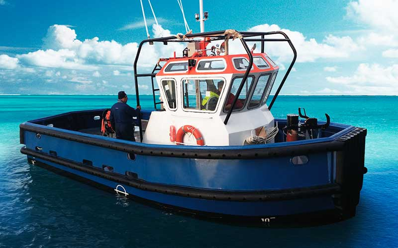 Mooring boat SYM Naval