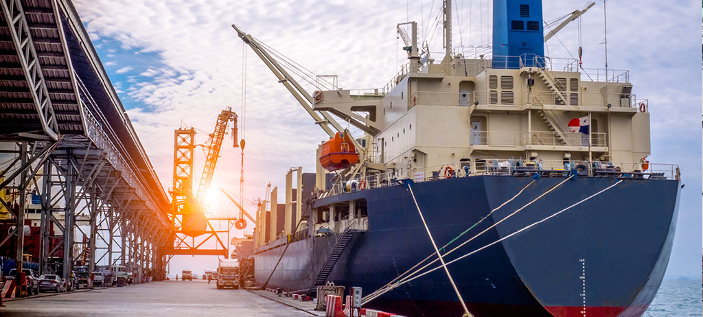Operator repairing cruise ships in dry dock