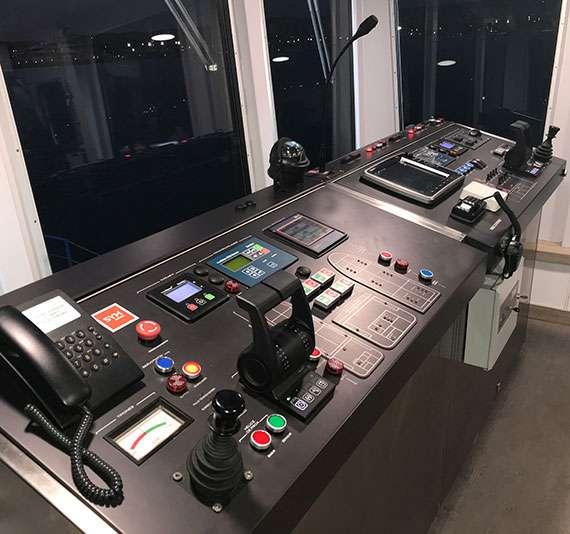 Oil Tanker cabina