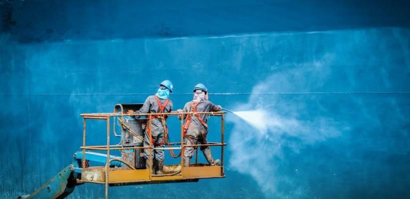 La importancia de la pintura en el sector naval