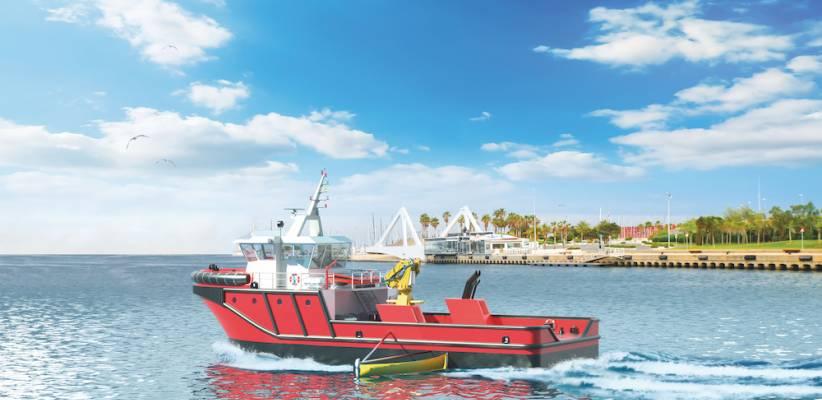 Port Support Vessel, un buque portuario polivalente