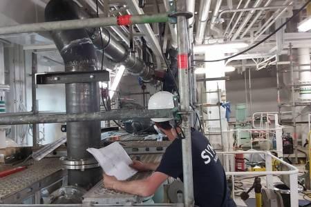 Nueva instalación de sistema de aguas de lastre para el astillero Cernaval