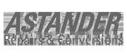 Références, réparations et conversions Astander