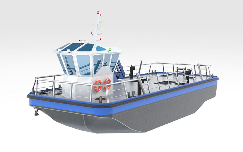 Remorqueur portuaire mer