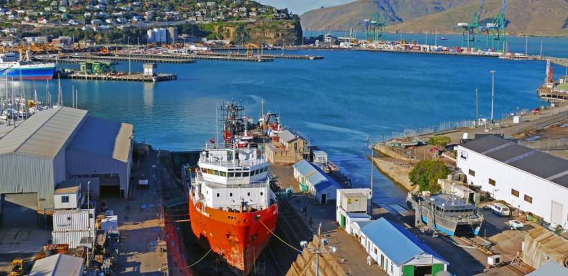 What is a dry dock and how does it work?