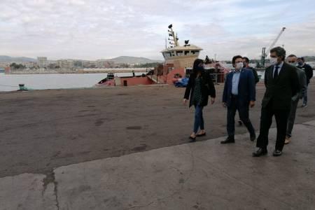 Ports de la Generalitat visits the SYM Naval shipyard